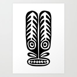 Tiki Mod 07 Art Print