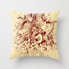 SUOC Print Throw Pillow