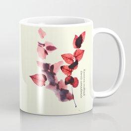 Vintage leaf watercolor painting #6 - Eastern redbud - Cercis canadensis Coffee Mug