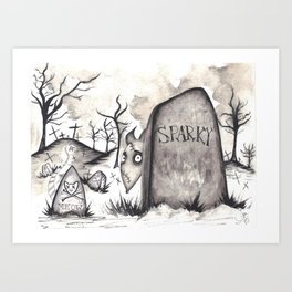 Frankenweenie Art Prints For Any Decor Style Society6