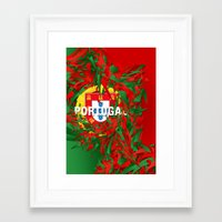 portugal Framed Art Prints featuring Portugal by Danny Ivan