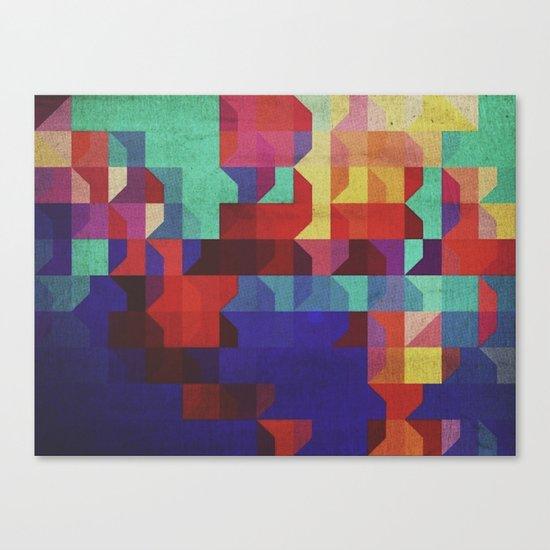 quartier Canvas Print