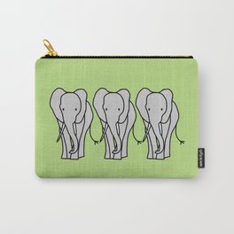 Big Elephant Carry-All Pouch