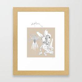Weird & Wonderful: Harehopper Framed Art Print