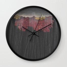 Medusa Jellyfish Wall Clock