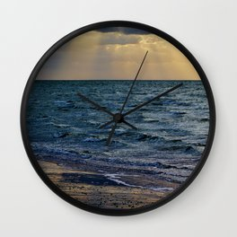 Blessed Sea Wall Clock