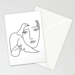 Picasso Dove Peace Women Stationery Cards