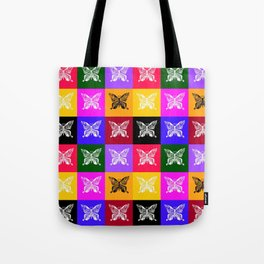Butterfly drawings- if you look carefully, you'll find the hummingbirds that I drew in their wings Tote Bag