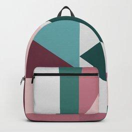 Modern Geometric 62 Backpack