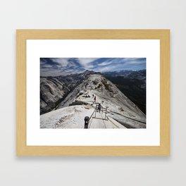Always Look Down Framed Art Print