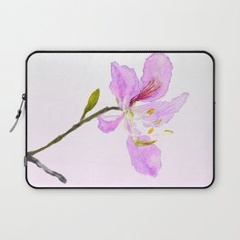 purple Buahinia Laptop Sleeve