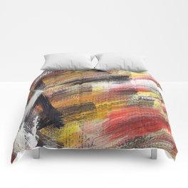 Cosmic brown 2 Comforters