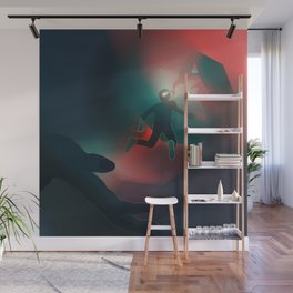 Just Getting Started Wall Mural