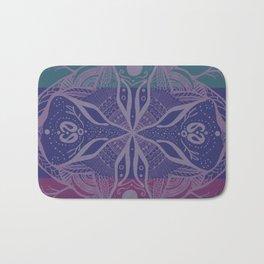 Mandala Drawing Bath Mat