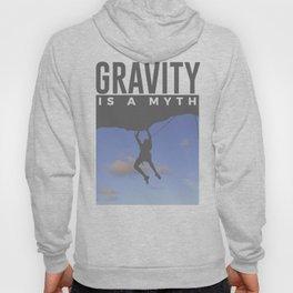Gravity Is A Myth Rock Wall Climbing Hoody