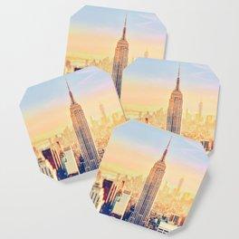 New York City Sunset Glow Coaster
