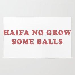 HAIFA NO GROW SOME BALLS Rug