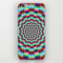 Spider's on Acid iPhone Skin