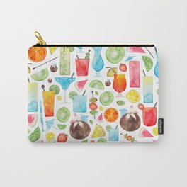 Summer Fruit Cocktail Carry-All Pouch