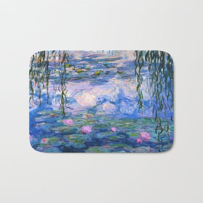 Water Lilies Monet Badematte