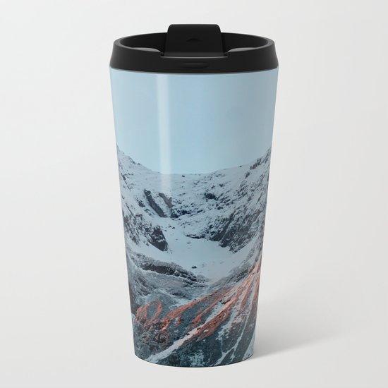 Burnt Mountains Metal Travel Mug
