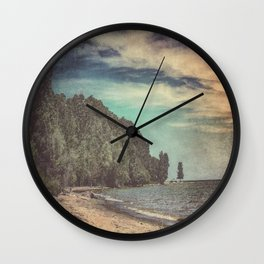 Apart From Me Wall Clock