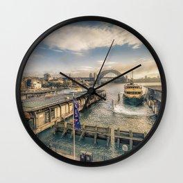 Circular Quay, Sydney Wall Clock