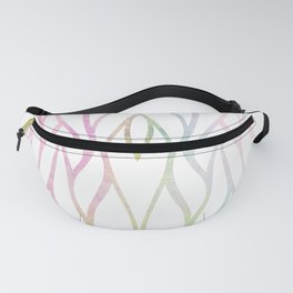 Watercolor Unicorn Summer Waves Fanny Pack