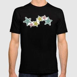 starfish tropical print T-shirt