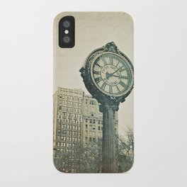 Fifth Avenue time iPhone Case