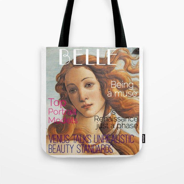 Renaissance Magazine Tote Bag