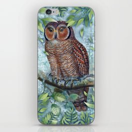 Forest Owl iPhone Skin