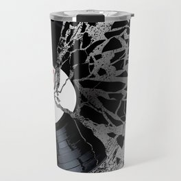 Shattered Record Travel Mug