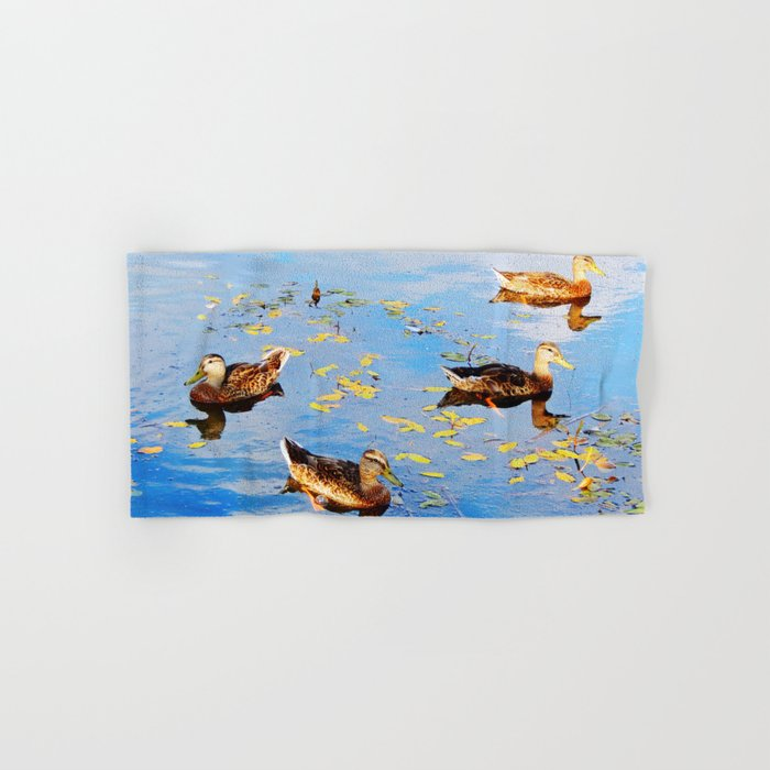 Ducks on a Pond Hand & Bath Towel
