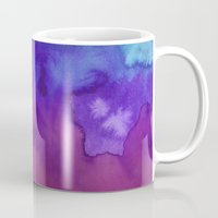 watercolour Mugs featuring Watercolour by Amber Nuttall