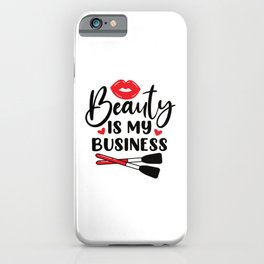 Make Up iPhone Case