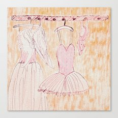 DANCE COSTUMES Canvas Print
