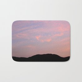 Moonrise over Death Valley Bath Mat