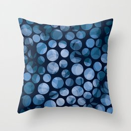 Abstract Dotted BG Throw Pillow