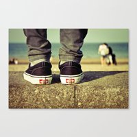 vans Canvas Prints featuring vans II. by Zsolt Kudar
