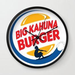 Big Kahuna Burger Wall Clock
