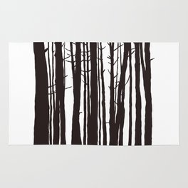 The Trees and The Forest Rug