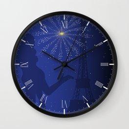 Paris Romance Wall Clock