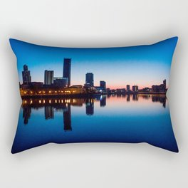 Night city Rectangular Pillow