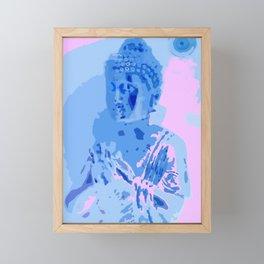 Modern Buddha Framed Mini Art Print