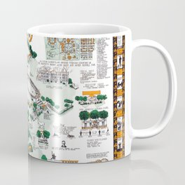 SYRACUSE campus map NEW YORK dorm decor graduate Coffee Mug