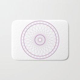 Anime Magic Circle 15 Bath Mat