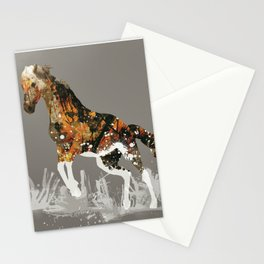 Ice Horse Stationery Cards