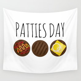 Patties Day Wall Tapestry