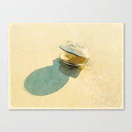 Clam Canvas Print